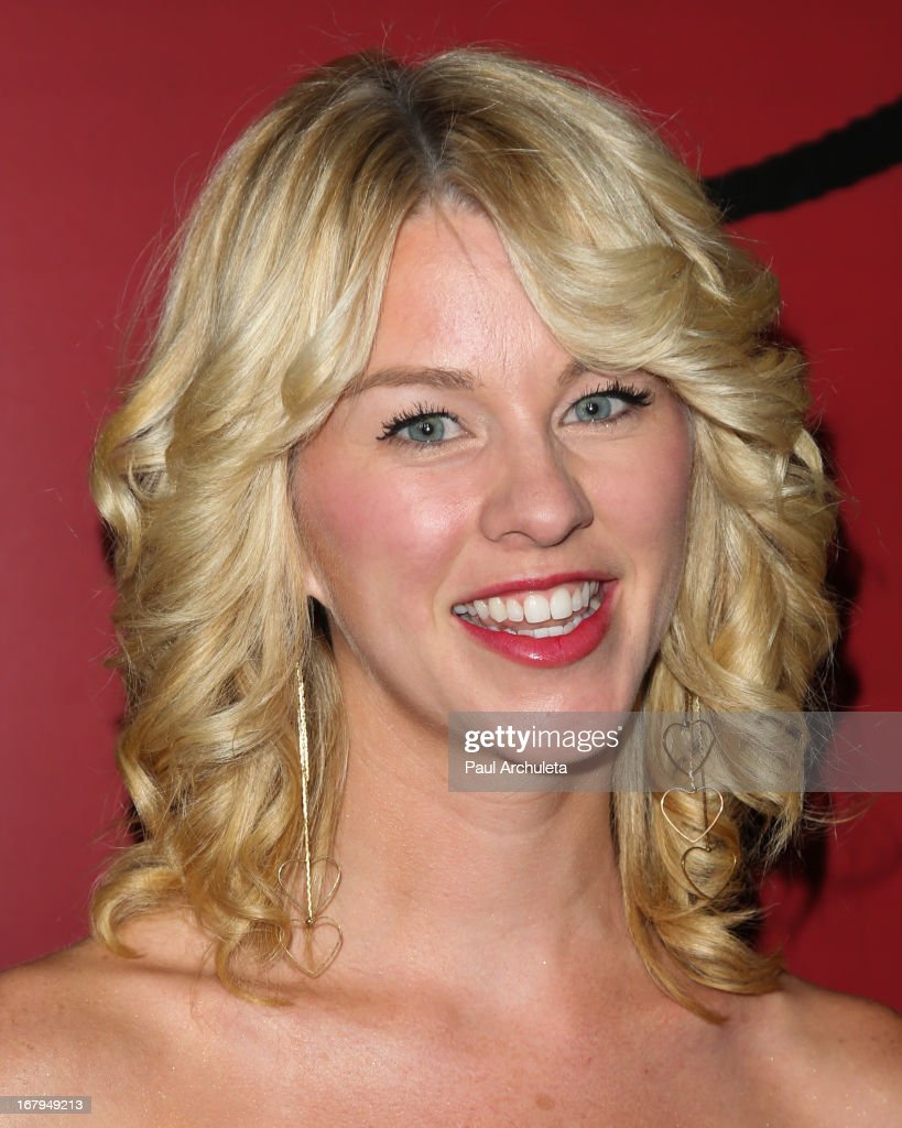 Actress Kim Shaw attends the one year anniversary celebration for the WIGS digital channel at Akasha Restaurant on May 2, 2013 in Culver City, California.