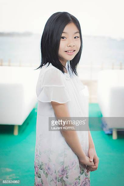 Actress Kim Suan is photographed for Self Assignment on May 14 2016 in Cannes France