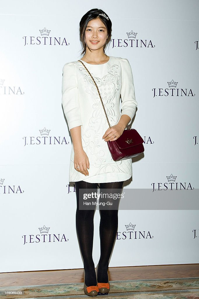 Actress Kim You-Jung attends a promotional event for the 2013 J.ESTINA SS presentation at Shilla Hotel on January 7, 2013 in Seoul, South Korea.