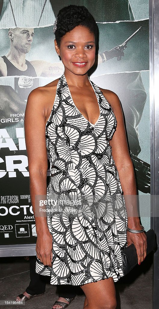 Actress Kimberley Elise attends the Premiere Of Summit Entertainment's 'Alex Cross' at the ArcLight Cinemas Cinerama Dome on October 15, 2012 in Hollywood, California.