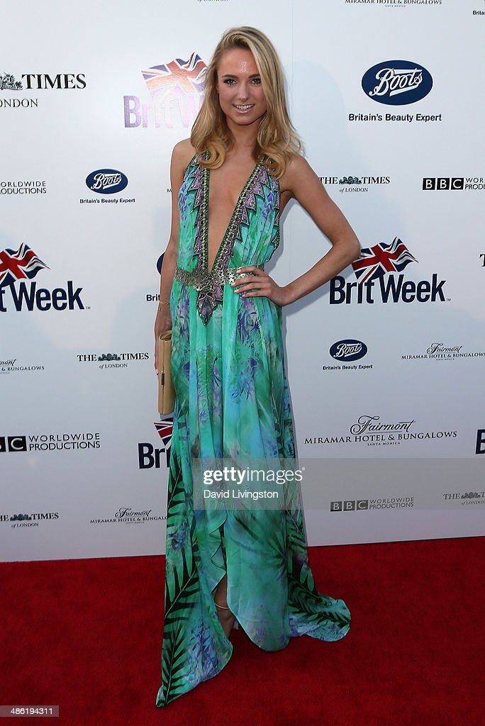 Actress <a gi-track='captionPersonalityLinkClicked' href=/galleries/search?phrase=Kimberley+Garner&family=editorial&specificpeople=9081186 ng-click='$event.stopPropagation()'>Kimberley Garner</a> attends the 8th Annual BritWeek Launch Party on April 22, 2014 in Los Angeles, California.