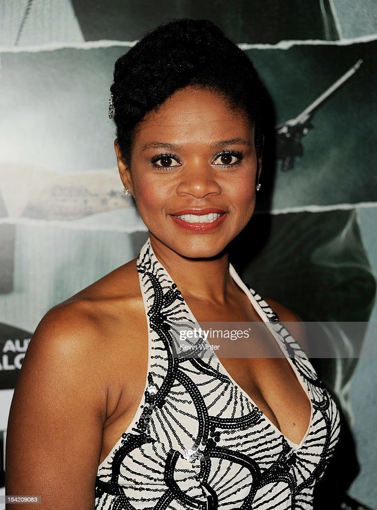 Actress Kimberly Elise arrives at the premiere of Summit Entertainment's 'Alex Cross' at the Arclight Theater on October 15, 2012 in Los Angeles, California.