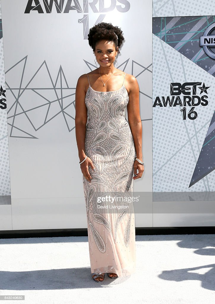 Actress Kimberly Elise attends the 2016 BET Awards at Microsoft Theater on June 26, 2016 in Los Angeles, California.