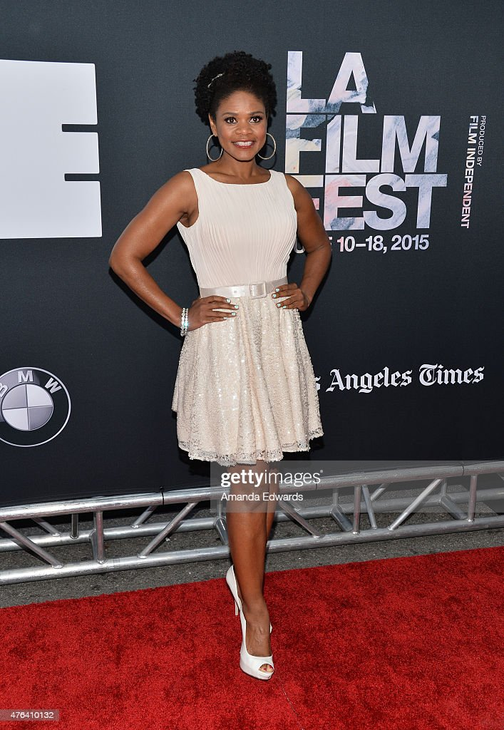 Actress Kimberly Elise attends the Los Angeles premiere of 'Dope' in partnership with the Los Angeles Film Festival at Regal Cinemas L.A. Live on June 8, 2015 in Los Angeles, California.
