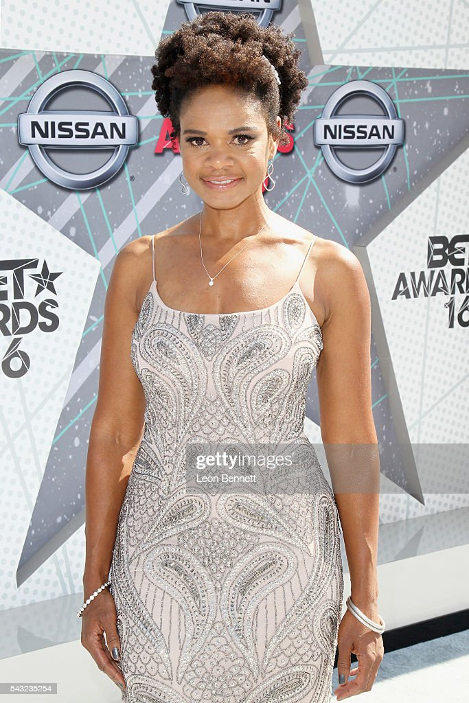 Actress <a gi-track='captionPersonalityLinkClicked' href=/galleries/search?phrase=Kimberly+Elise&family=editorial&specificpeople=211117 ng-click='$event.stopPropagation()'>Kimberly Elise</a> attends the Make A Wish VIP Experience at the 2016 BET Awards on June 26, 2016 in Los Angeles, California.
