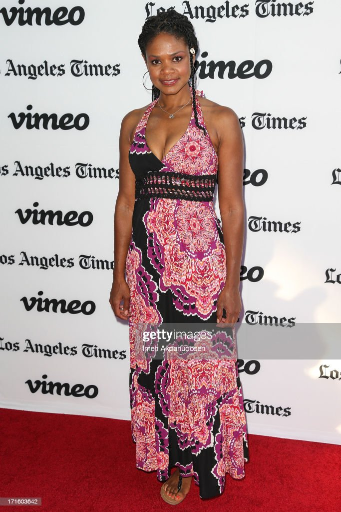 Actress <a gi-track='captionPersonalityLinkClicked' href=/galleries/search?phrase=Kimberly+Elise&family=editorial&specificpeople=211117 ng-click='$event.stopPropagation()'>Kimberly Elise</a> attends the premiere of 'Some Girl(s)' at Laemmle NoHo 7 on June 26, 2013 in North Hollywood, California.
