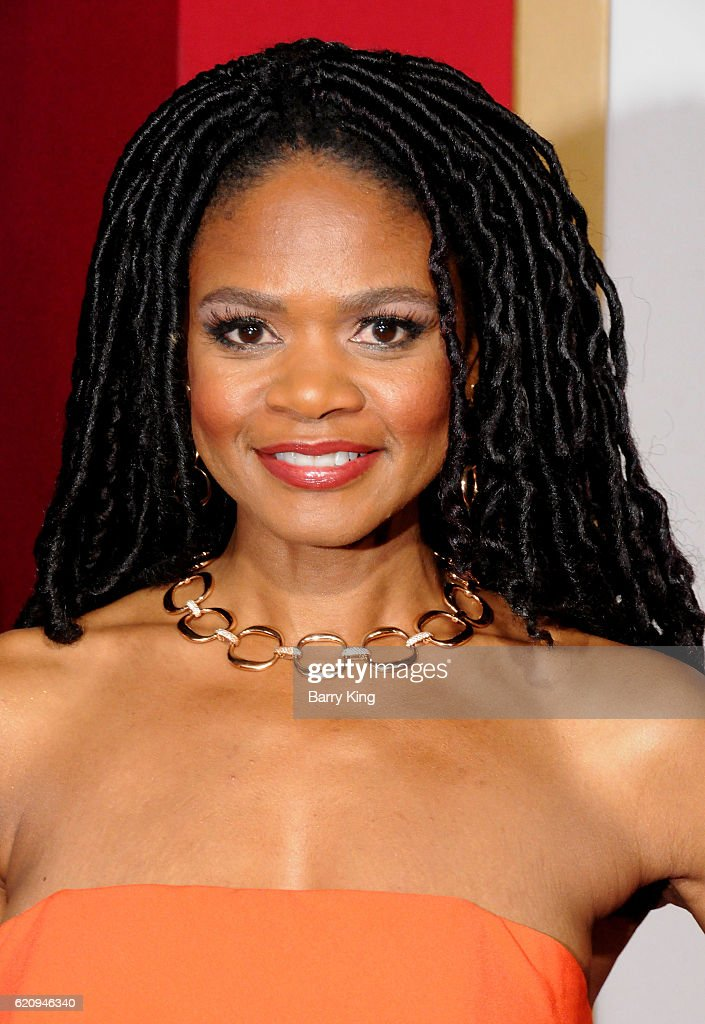 Actress Kimberly Elise attends the premiere of Universal's 'Almost Christmas' at Regency Village Theatre on November 3, 2016 in Westwood, California.