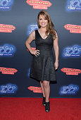 Actress Kimberly J Brown attends the premiere of 100th Disney Channel's Original Movie 'Adventures In Babysitting' and celebration of all DCOMS at...