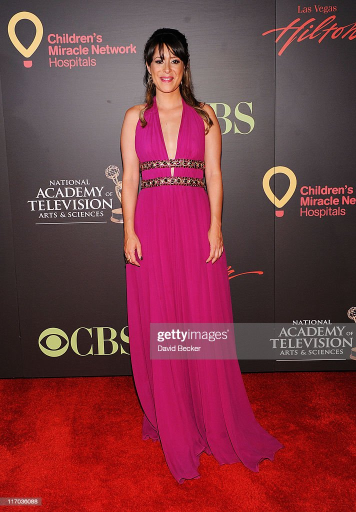 Actress Kimberly McCullough arrives at the 38th Annual Daytime Entertainment Emmy Awards held at the Las Vegas Hilton on June 19, 2011 in Las Vegas, Nevada.