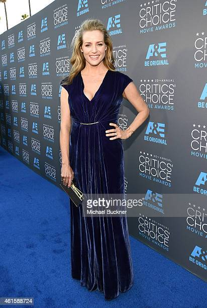 Actress Kimberly Quinn attends the 20th annual Critics' Choice Movie Awards at the Hollywood Palladium on January 15 2015 in Los Angeles California