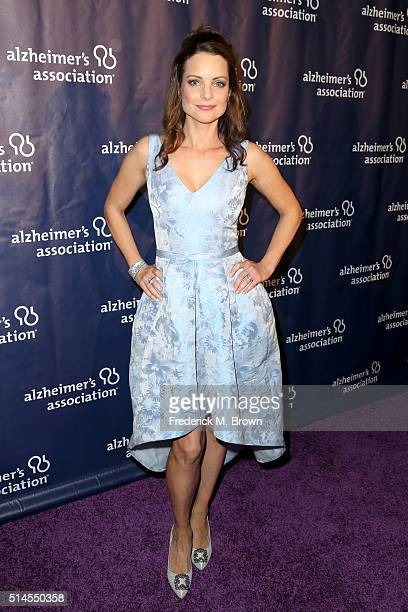 Actress Kimberly WilliamsPaisley attends the 24th and final 'A Night at Sardi's' to benefit the Alzheimer's Association at The Beverly Hilton Hotel...
