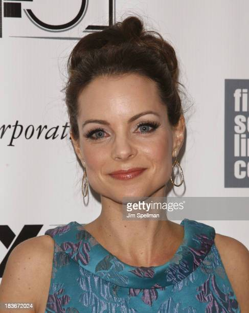 Actress Kimberly WilliamsPaisley attends the 'All Is Lost' Premiere during the 51st New York Film Festival at Alice Tully Hall at Lincoln Center on...
