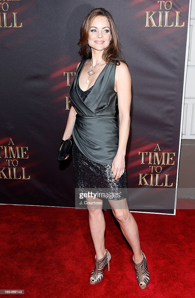 Actress Kimberly Williams-Paisley attends the Broadway opening night of 'A Time To Kill' at The Golden Theatre on October 20, 2013 in New York City.
