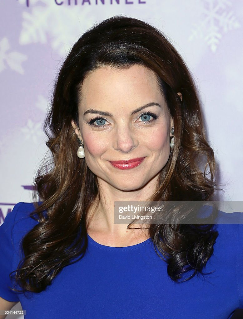 Actress Kimberly Williams-Paisley attends the Hallmark ...