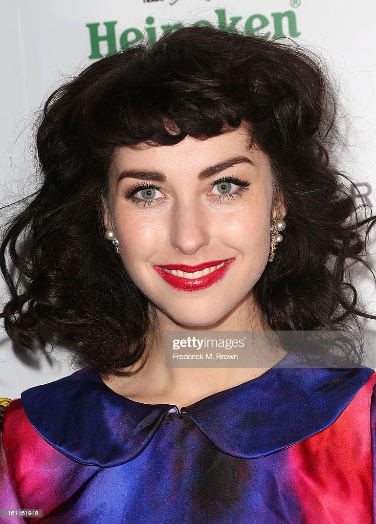 Actress Kimbra Lee Johnson attends Warner Music Group's 2013 Grammy Celebration at Chateau Marmont's Bar Marmont on February 10, 2013 in Hollywood, California.