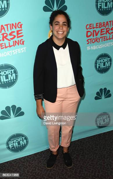 Actress Kimia Behpoornia attends the 12th Annual NBCUniversal Short Film Festival finale screening at the Directors Guild of America on October 18...