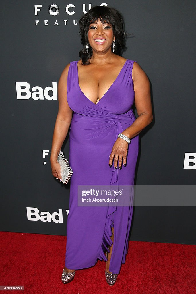 Actress Kimleigh Smith attends the premiere of Focus Features' 'Bad Words' at ArcLight Cinemas Cinerama Dome on March 5, 2014 in Hollywood, California.
