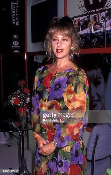 Actress Kimmy Robertson attends 10th Annual Video Dealers Association Convention on July 15 1991 at the Sands Hotel in Las Vegas Nevada
