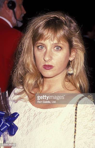 Actress Kimmy Robertson attends ABC TV Fall Affiliates Party on September 12 1990 at UCLA Campus in Westwood California