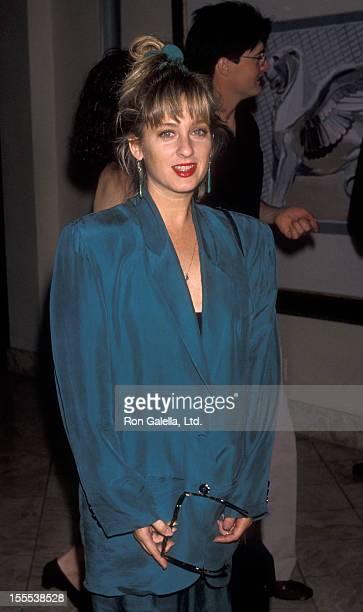 Actress Kimmy Robertson attends ABC TV Press Tour on July 22 1990 at the Century Plaza Hotel in Century City California