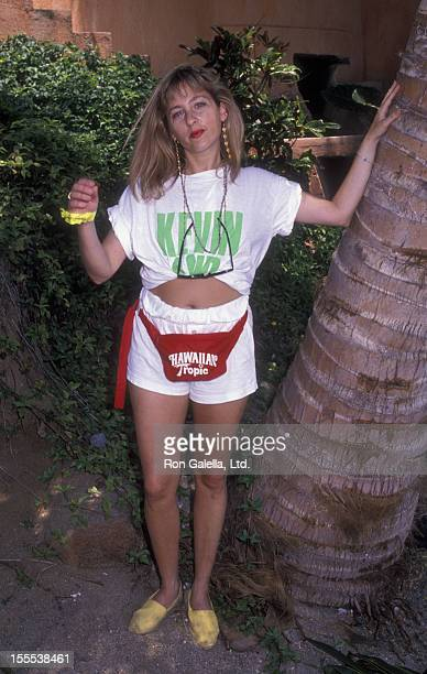 Actress Kimmy Robertson attends Las Hadas Celebrity Sports Invitational on May 11 1990 in Las Hadas California