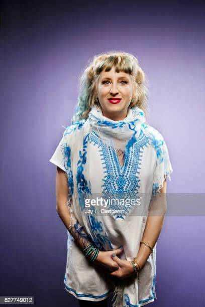 Actress Kimmy Robertson from the television series 'Twin Peaks' is photographed in the LA Times photo studio at ComicCon 2017 in San Diego CA on July...