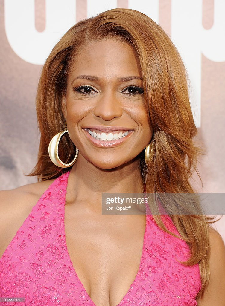 Actress Kimrie Lewis-Davis arrives at the Los Angeles Premiere 'Peeples' at ArcLight Hollywood on May 8, 2013 in Hollywood, California.