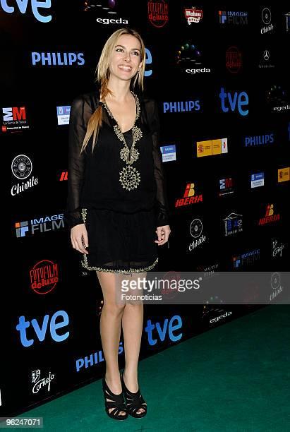 Actress Kira Miro arrives to the ''Forque Awards 2010'' ceremony at the Palacio de Congresos on January 28 2010 in Madrid Spain