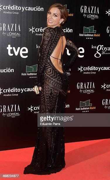 Actress Kira Miro attends Goya Cinema Awards 2014 after party at Centro de Congresos Principe Felipe on February 9 2014 in Madrid Spain