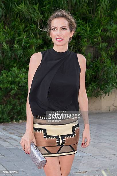 Actress Kira Miro attends Tacha Beauty and Javier De Benito Institute party at the Santa Coloma Palace on May 31 2016 in Madrid Spain