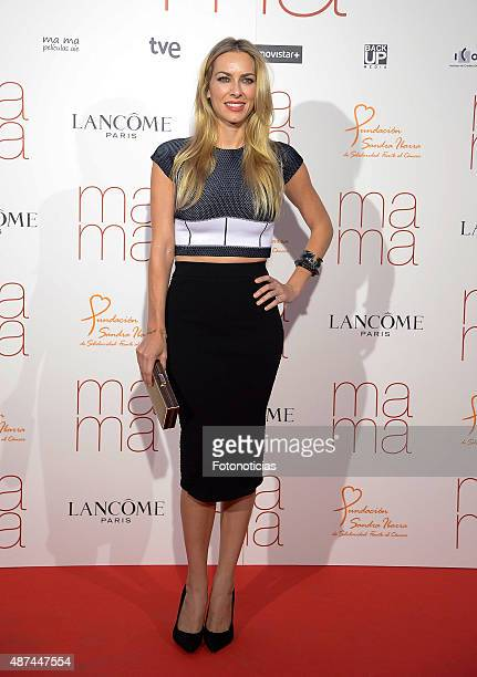 Actress Kira Miro attends the 'Ma Ma' Premiere at the Capitol Cinema on September 9 2015 in Madrid Spain