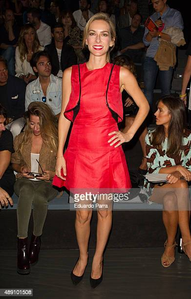 Actress Kira Miro is seen attending MercedesBenz Fashion Week Madrid Spring/Summer 2015/16 at Ifema on September 19 2015 in Madrid Spain