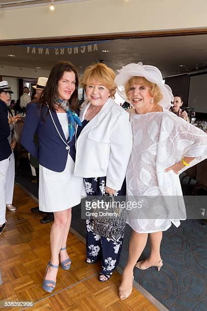 Actress Kira Reed Lorsch Actress Patrika Darbo and Actress Ruta Lee attend The Thalians Presidents Club Anchors Away Brunch at the California Yacht...