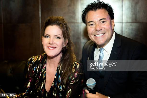Actress Kira Reed Lorsch and Al Bowman Founder and Executive Producer of the Los Angeles Music Awards and Hollywood FAME Awards attend the Kira Reed...
