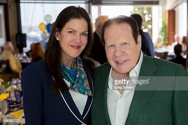 Actress Kira Reed Lorsch and entrepreneur Bob Lorsch attend The Thalians Presidents Club Anchors Away Brunch at the California Yacht Club on June 5...