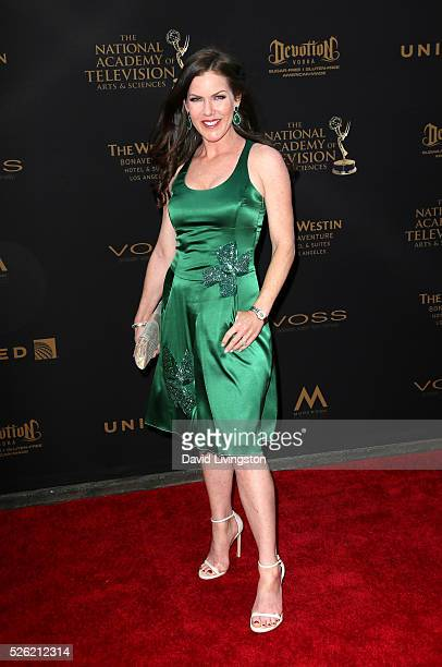 Actress Kira Reed Lorsch attends the 43rd Annual Daytime Creative Arts Emmy Awards at Westin Bonaventure Hotel on April 29 2016 in Los Angeles...