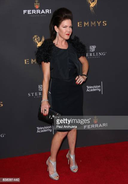Actress Kira Reed Lorsch attends the Television Academy's cocktail reception with the Stars of Daytime Television celebrating The 69th Emmy Awards at...