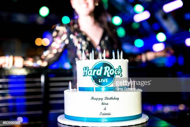 Actress Kira Reed Lorsch poses for a picture at the Kira Reed and Taimie Hannum Double Birthday Bash at Hard Rock Live Las Vegas on October 12 2017...