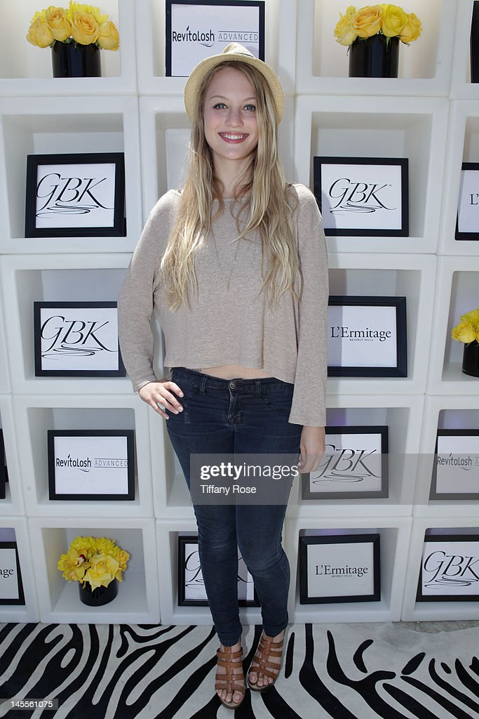 Actress Kirby Bliss Blanton attends GBK Gift Lounge In Honor of The MTV Movie Award Nominees And Presenters - Day 1 at L'Ermitage Beverly Hills Hotel on June 1, 2012 in Beverly Hills, California.