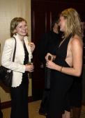 Actress Kirsten Dunst and modelactress Rebecca RomijnStamos attend the first Annual Oceana Partners Awards Dinner December 3 2003 in Los Angeles...