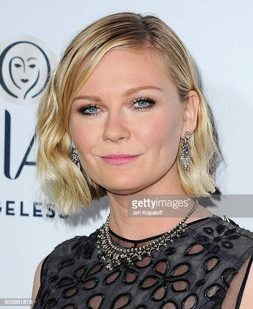 Actress Kirsten Dunst arrives at ELLE's 6th Annual Women In Television Dinner at Sunset Tower Hotel on January 20 2016 in West Hollywood California