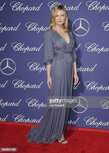 Actress Kirsten Dunst arrives at the 28th Annual Palm Springs International Film Festival Film Awards Gala at Palm Springs Convention Center on...