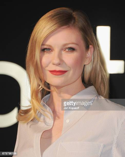 Actress Kirsten Dunst arrives at the Panthere De Cartier Party In LA at Milk Studios on May 5 2017 in Los Angeles California