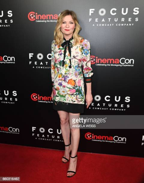 Actress Kirsten Dunst attends a Focus Features luncheon and studio program celebrating 15 Years during CinemaCon at The Colosseum at Caesars Palace...