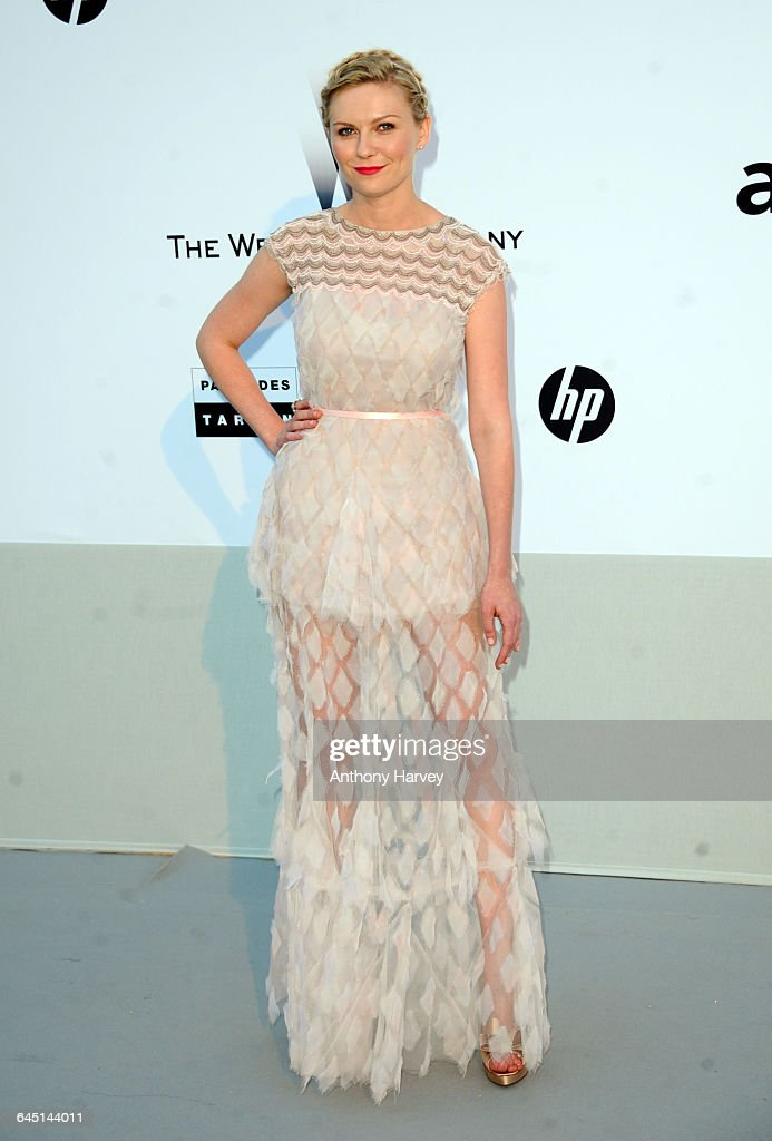Actress Kirsten Dunst attends amfAR's Cinema Against AIDS Gala during the 64th Annual Cannes Film Festival at Hotel Du Cap on May 19 2011 in Antibes...
