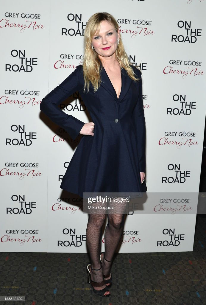 Actress Kirsten Dunst attends 'On The Road' New York Premiere at SVA Theater on December 13, 2012 in New York City.