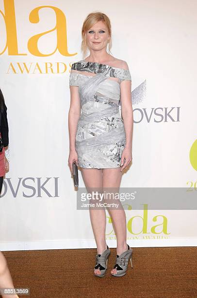 Actress Kirsten Dunst attends the 2009 CFDA Fashion Awards at Alice Tully Hall Lincoln Center on June 15 2009 in New York City