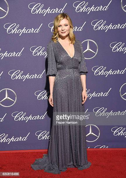 Actress Kirsten Dunst attends the 28th Annual Palm Springs International Film Festival Film Awards Gala at the Palm Springs Convention Center on...