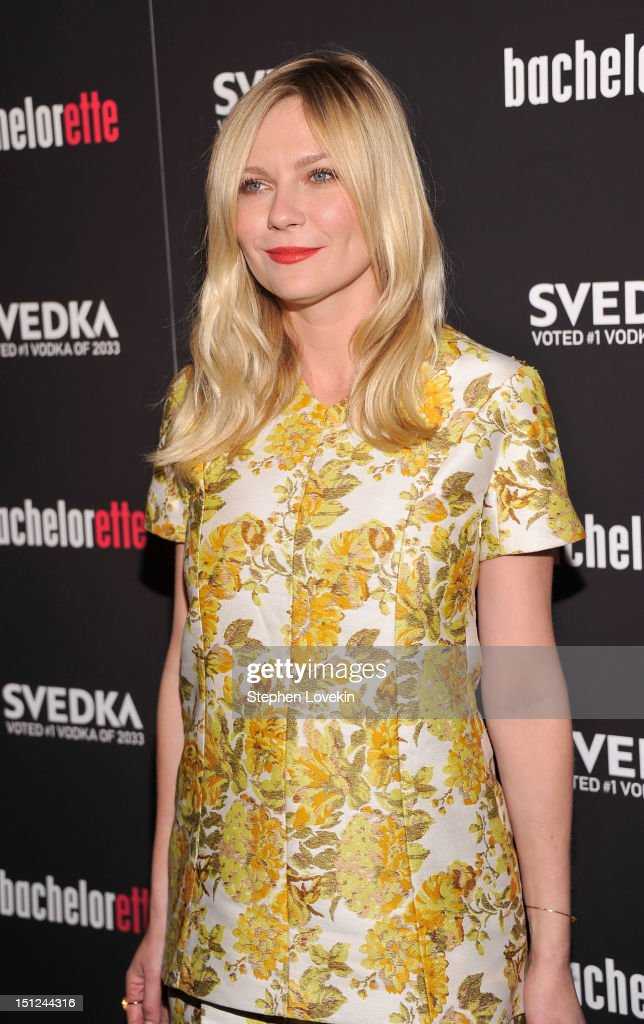 Actress Kirsten Dunst attends the 'Bachelorette' New York Premiere at Sunshine Landmark on September 4, 2012 in New York City.