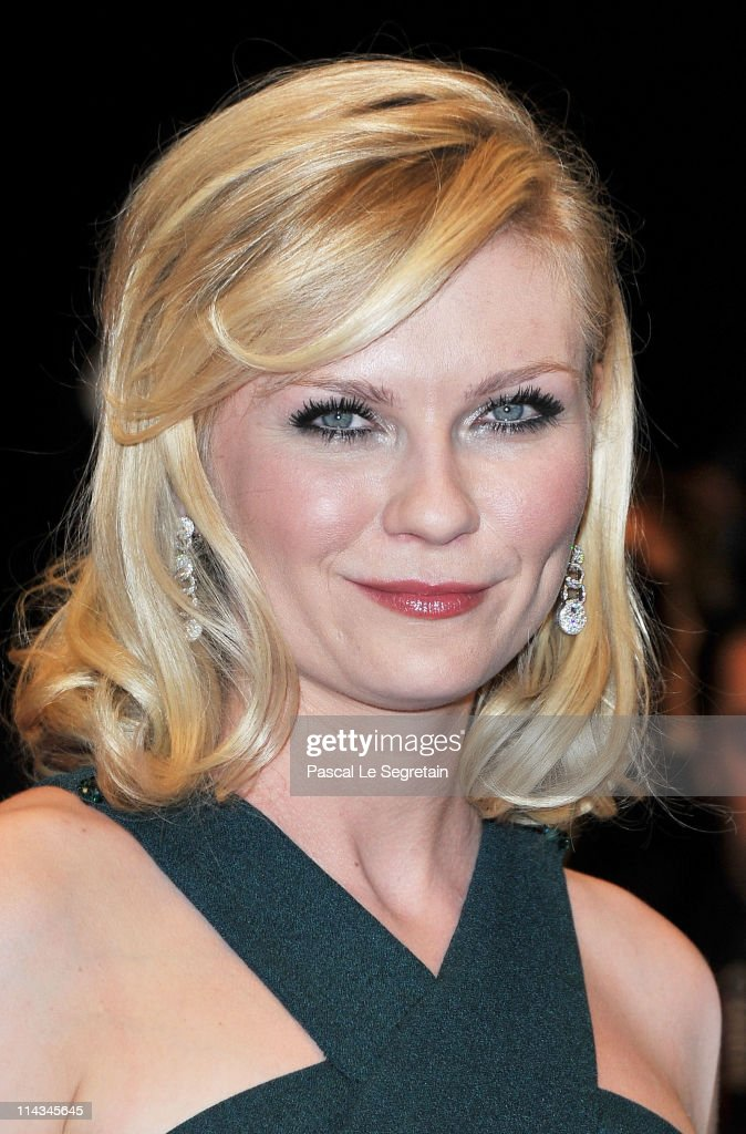 Actress Kirsten Dunst attends the 'Melancholia' premiere during the 64th Annual Cannes Film Festival at Palais des Festivals on May 18 2011 in Cannes...